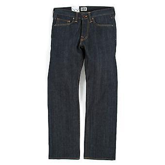 Edwin jeans Ed-47 Regular rak röd selvedge denim-otvättad