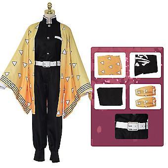 Copii Anime Demon Slayer Cosplay Costum Set Tanjirou Nezuko Outfit