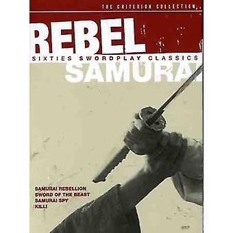 Rebel Samurai & tresserne [DVD] USA importerer