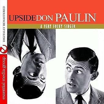Don Paulin - Upside Don: A Very Folky Singer [CD] USA import