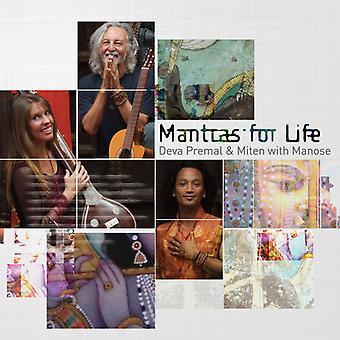 Premal, Deva / Miten / Manose - Mantras for Life [CD] USA import