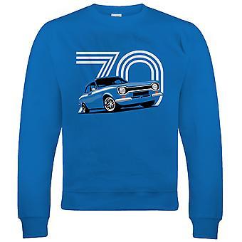 Mk1 Escort Mexico, mens Classic auto Sweatshirt
