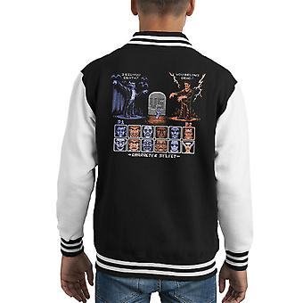 Varsity Jacket de Monster universel Fighter Dracula Vs Frankenstein Kid