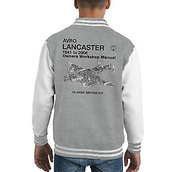 Haynes Owners Workshop Manual Arvo Lancaster 1941 to 2006 Kid's Varsity Jacket