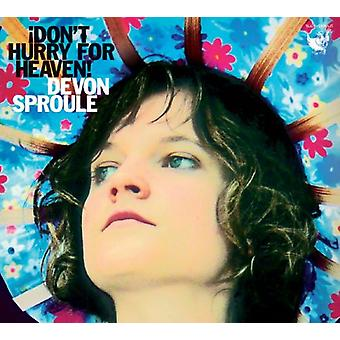 Devon Sproule - Don't Hurry for Heaven! [CD] USA import
