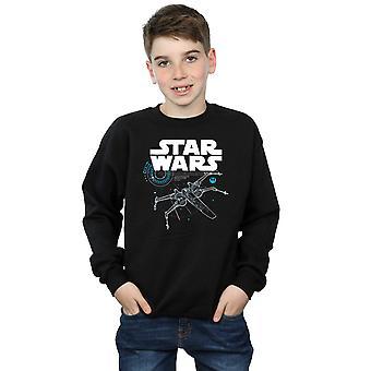 Star Wars pojat viimeinen Jedi X-Wing-paita