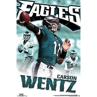Philadelphia Eagles - Carson Wentz 16 Poster Print