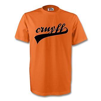 يوهان كرويف هولندا التوقيع كوم (برتقالي)-للأطفال