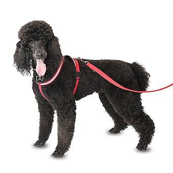 CLIX Dog Comfy Harness, Red, XL