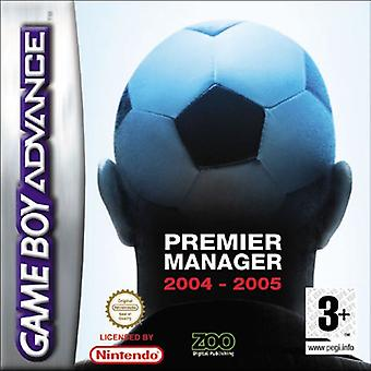 Premier Manager 2004-2005 (GBA) - New
