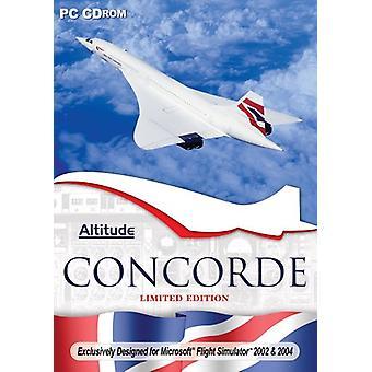 Concorde Microsoft Flight Sim 2004 udvidelsespakke (PC CD)-ny