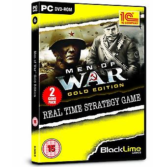 Men of War Gold Edition - MOW ja MOW Red Tide (PC DVD) - Uusi