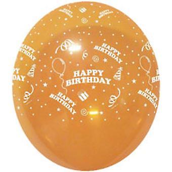 """Ballons zum Geburtstag Geschenke Ass Crystal Cols 12"""" Bag Of 25"""
