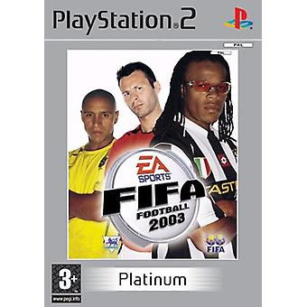 FIFA Football 2003 Platinum-fabriek verzegeld