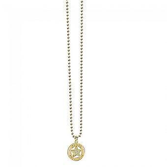 Guess Damen Kette Halskette Edelstahl gold UBN21606