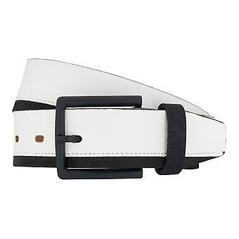 LLOYD pas pasy męskie pasy skórzane buty pasa biały 6891