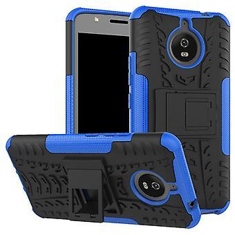 Hybrid case 2 piece SWL outdoor blue for Motorola Moto E4 plus bag case cover