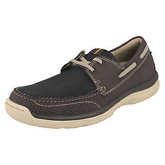 Zapatos de Clarks Casual hombre Marcus Edge