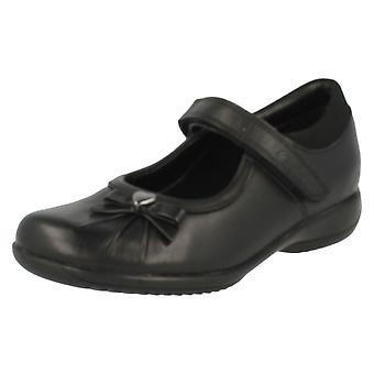 Girls Clarks School Shoes Daisy Gleam