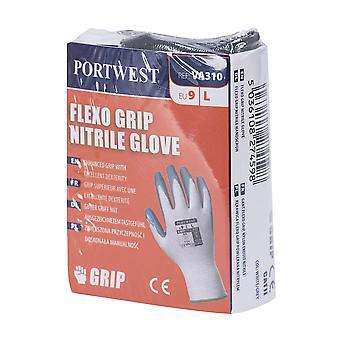 sUw - Flexo Grip Nitrile General Handling Glove (1 Pair Pack)