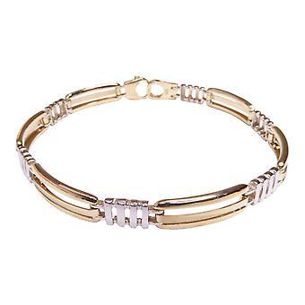 14 k bicolor bracelet