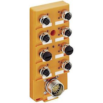 לוביברג אוטומציה ASBSV 8/LED 5 11138 חיישן & למפעיל תיבת (פאסיב) מפצל M12 + פלדה פתיל 1 pc (עם)