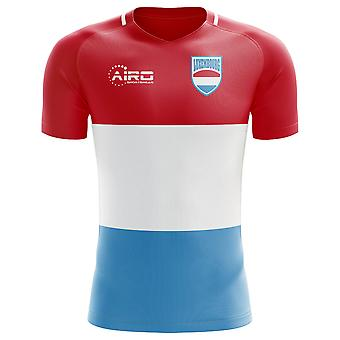 2020-2021 Luxembourg Home Concept Football Shirt (Kids)
