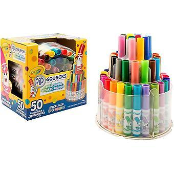Crayola Pip-Squeaks Telescoping Marker Tower-50/Pkg