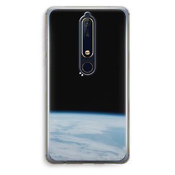 Nokia 6 (2018) gjennomsiktig sak (myk) - alene i rommet