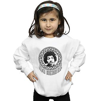 Jimi Hendrix Girls Pattern Circle Sweatshirt
