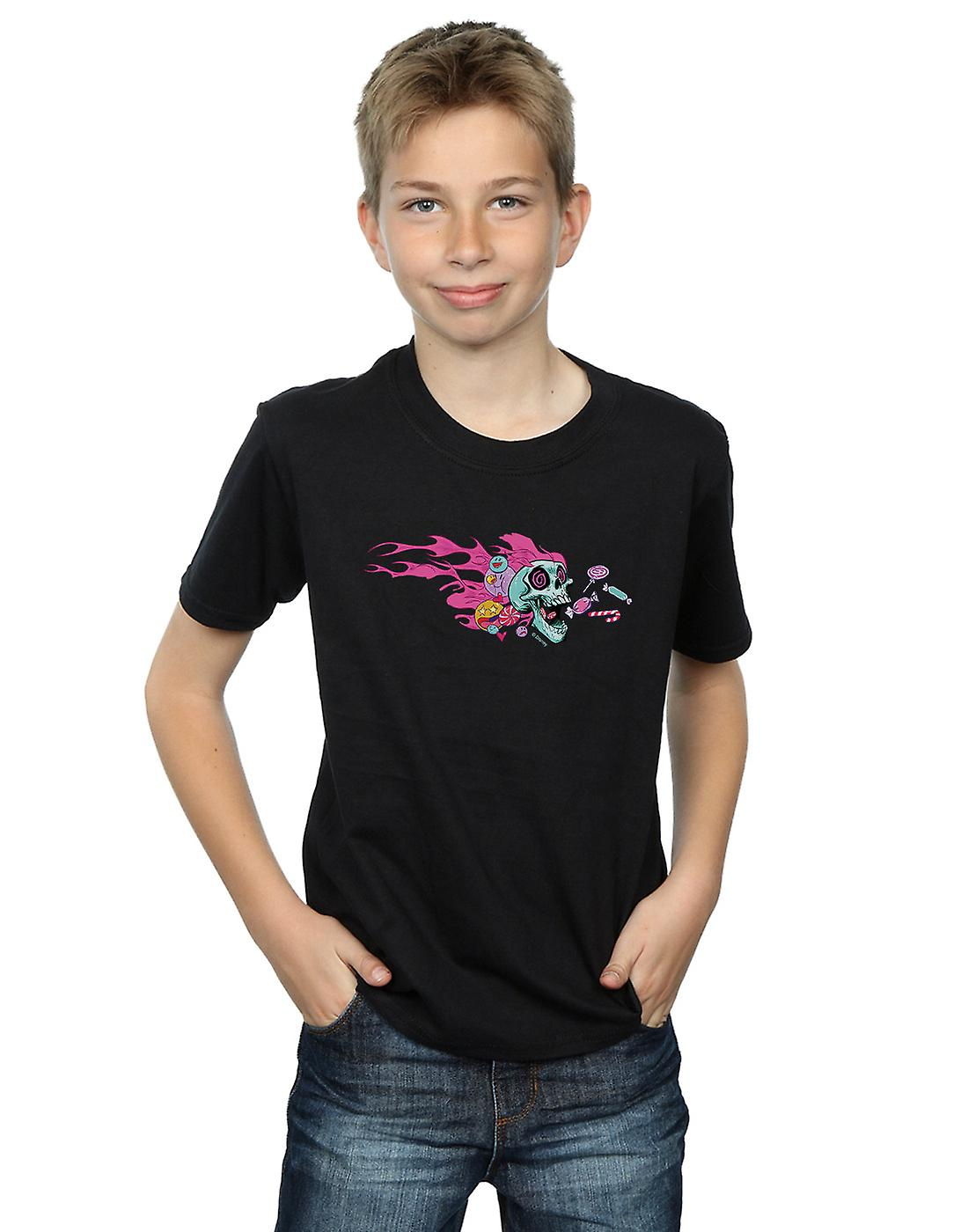 Disney Boys Wreck It Ralph Candy Skull T-Shirt