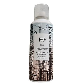 Instelling van de structurele Hold R + Co raster Spray 5 OZ