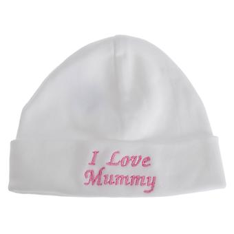 Universal Textiles Baby Boys/Girls I Love Mummy Hat