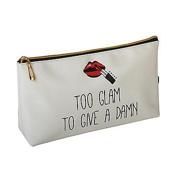 FMG lång Cosmetics Make Up väska, alltför Glam