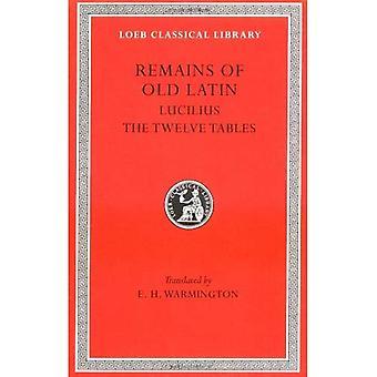 Lucilius, lagar de tolv tavlornas