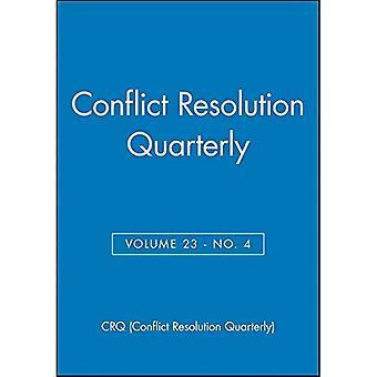 Konfliktlösung vierteljährlich: v. 23, Nr. 4 (J-B MQ Einzelheft Mediation vierteljährlich)