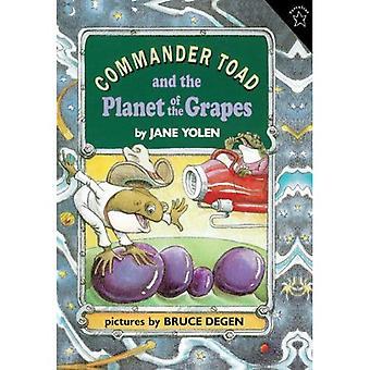 Dowódca Toad i planety winogron (Szkoła Turtleback &; oprawa wydanie biblioteki)
