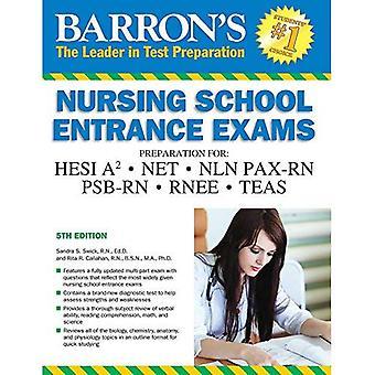 Verzorgingsschool ingangsexamens (Barron's verzorgingsschool ingangsexamens)