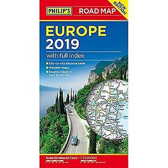 フィリップのヨーロッパ道路地図