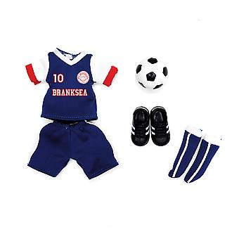Lottie Dolls Branksea United Outfit Set