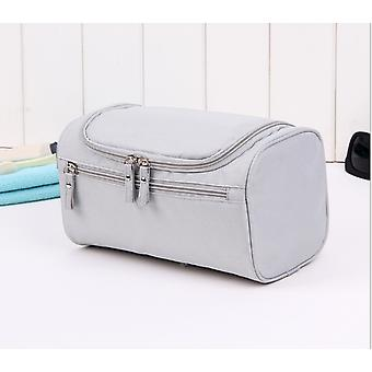 Toiletry grey for men as a woman great capacity