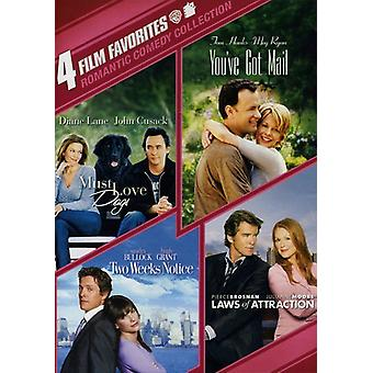 Romantisk komedie Colletion [DVD] USA importerer