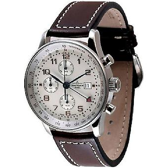 Zeno-Watch Herrenuhr X-Large Retro Chronograph P753TVDGMT-f2