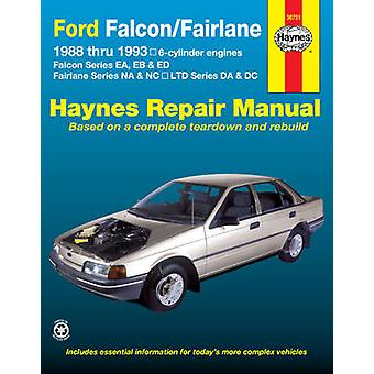 Ford Falcon/Fairlane Australian Automotive Repair Manual - 1988 to 199