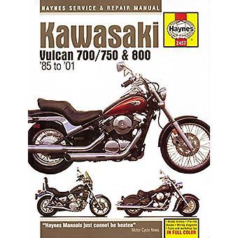 Kawasaki Vulcan 700/750/800 1985-2006 by Haynes - 9781620922897 Book