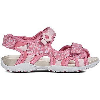 Geox Girls Roxanne J92D6 Sandals Pink
