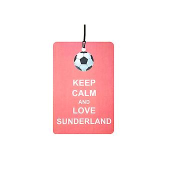 Keep Calm And Love Sunderland Car Air Freshener