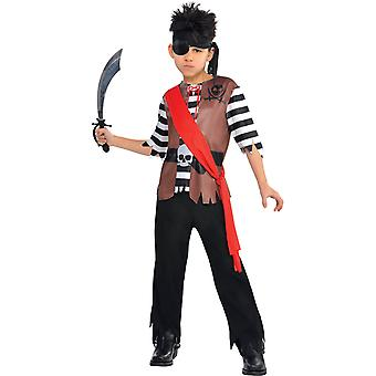Boys Pirate Captain Costume
