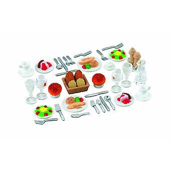 Sylvanian Familias cena para dos