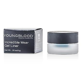 Youngblood otroliga bära Gel Liner - # lagun 3g / 0,1 oz